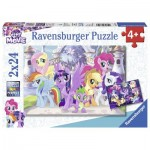 Ravensburger-07812 2 Jigsaw Puzzles - My Little Pony