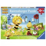 Ravensburger-07823 2 Puzzles - Maya the Bee
