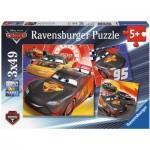 Ravensburger-08001 3 Jigsaw Puzzles - Cars