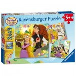 Puzzle  Ravensburger-08024 Disney Tangled - The Series