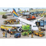 Ravensburger-08603 Jigsaw Puzzle - 35 Pieces - Airport Activities