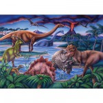 Ravensburger-08613 35 Pieces Jigsaw Puzzle - Dinosaurs Times