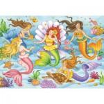 Puzzle  Ravensburger-08684 Mermaids