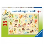 Puzzle  Ravensburger-08761 A-Z Animals