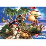 Puzzle  Ravensburger-08764 Puppy Pirate