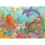 Puzzle  Ravensburger-08780 Ocean Friends
