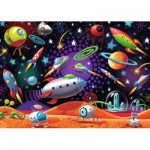 Puzzle  Ravensburger-08782 Space
