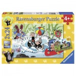 Ravensburger-08863 2 Puzzles - The Mole
