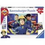 Ravensburger-09042 2 Jigsaw Puzzles - Sam Fireman