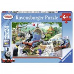 Ravensburger-09043 2 Jigsaw Puzzles - Thomas & Friends