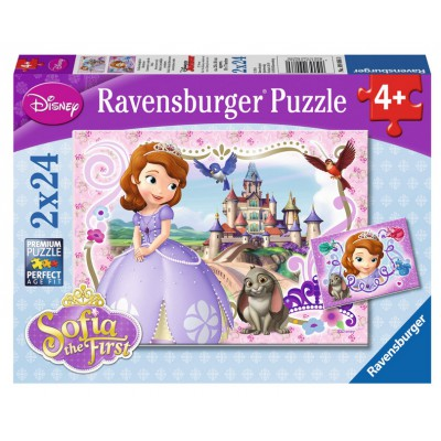 Puzzle Ravensburger-09086 Sofia the First