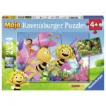 Ravensburger-09093 2 Jigsaw Puzzles - Bee Maja