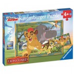 Ravensburger-09104 2 Jigsaw Puzzles - The Lion Guard