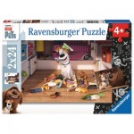 Ravensburger-09110 2 Jigsaw Puzzles - The Secret Life of Pets