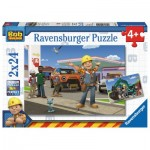 Ravensburger-09151 2 Jigsaw Puzzles - Bob the Builder