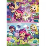 Ravensburger-09154 2 Jigsaw Puzzles - Little Charmers