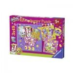 Ravensburger-09222 3D Jigsaw Puzzle - Shopkins