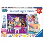 Ravensburger-09236 3 Jigsaw Puzzles - Nancy