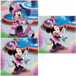 Ravensburger-09338 Jigsaw Puzzle - 3 x 49 Pieces - Mickey : Minnie at the Park