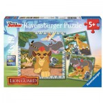 Ravensburger-09348 3 Jigsaw Puzzles - The Lion Guard