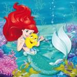 Ravensburger-09350 3 Puzzles - Disney Princess