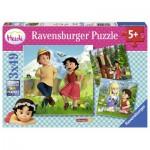Ravensburger-09405 3 Jigsaw Puzzles - Heidi