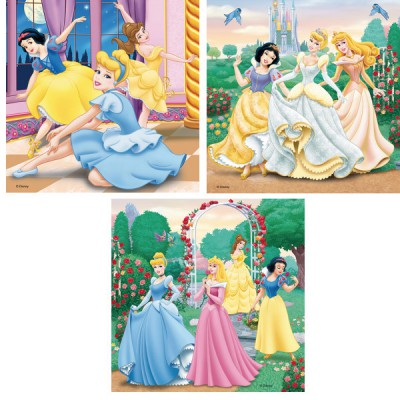 Puzzle Ravensburger-09411 Disney Princesses
