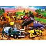 Ravensburger-09525 Jigsaw Puzzle - 60 Pieces - Construction Site