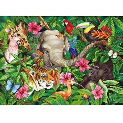 Ravensburger-09533 Jigsaw Puzzle - 60 Pieces - Tropical Atmosphere