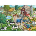 Puzzle  Ravensburger-09640 On the farm