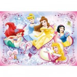 Ravensburger-09769 Jigsaw Puzzle - 125 Pieces - Maxi - Joyful Princesses
