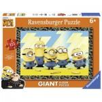 Ravensburger-09770 Floor Puzzle - Minions