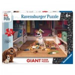 Ravensburger-09785 Floor Puzzle - Secret Life of Pets