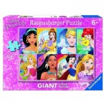 Ravensburger-09789 Floor Puzzle - Disney Princess