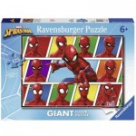 Ravensburger-09790 Floor Puzzle - Spiderman
