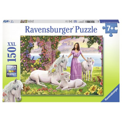 Puzzle Ravensburger-10008 Beautiful Princess