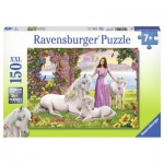 Puzzle  Ravensburger-10008 Beautiful Princess
