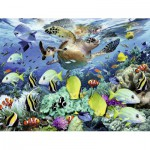 Puzzle  Ravensburger-10009 Underwater world