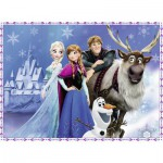 Puzzle  Ravensburger-10027 XXL Jigsaw Pieces - Frozen
