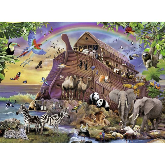 XXL Pieces - Noah's Ark