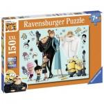 Puzzle  Ravensburger-10043 XXL Pieces - Minions