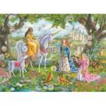 Puzzle  Ravensburger-10402 XXL Pieces - Princesses
