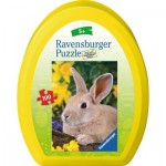Puzzle  Ravensburger-10406 Easter Eggs