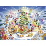 Puzzle  Ravensburger-10545 XXL Pieces - Disney Christmas Magic