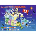 Puzzle  Ravensburger-10569 Map of Canada