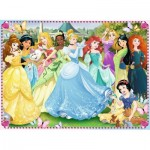 Puzzle  Ravensburger-10570 XXL Pieces - Disney Princess