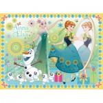 Puzzle  Ravensburger-10584 Disney Frozen