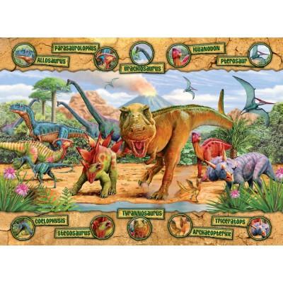 Ravensburger-10609 Jigsaw Puzzle - 100 Pieces - Maxi - Dinosaur's Era