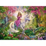 Puzzle  Ravensburger-10641 XXL Pieces - Magical ride