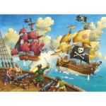 Puzzle  Ravensburger-10666 Pirates